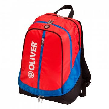 Oliver Backpack Red / Blue