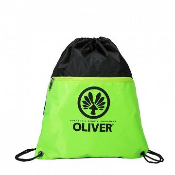 Oliver Gym Sack Black / Neon Green
