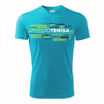 DoTenisa Performance T-Shirt Turquoise