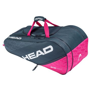 Head Elite Allcourt 8R Anthracite / Pink