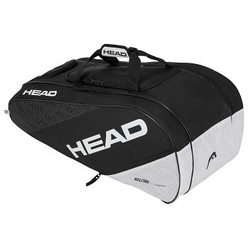 Head Elite 8R Allcourt Black / White
