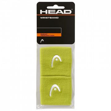 "Head Wristband 2,5"" Lime"