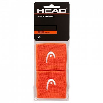 "Head Wristband 2,5"" Orange"
