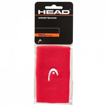 Head Wristband 5'' Red - 2 szt.