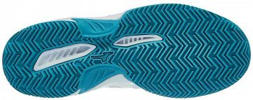 Mizuno Break Shot 2 CC White / Blue Curacao