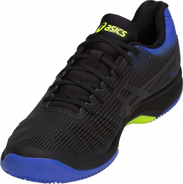 ASICS Solution Speed FF Clay Black / Illusion Blue