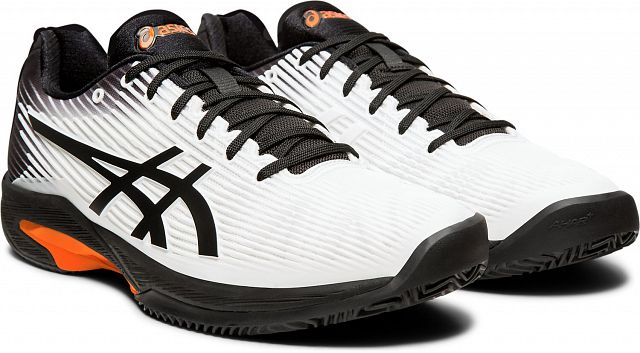 ASICS Solution Speed FF Clay White / Black
