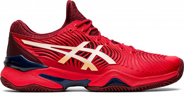 ASICS Court FF 2 Clay Classic Red / White