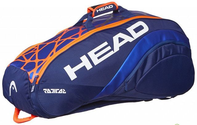 Head Radical 9R Supercombi Blue / Orange