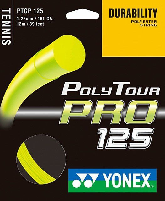 Yonex Poly Tour Pro 1.25 Flash Yellow